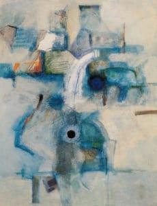 1997年脇田六瓶個展「青の橋」