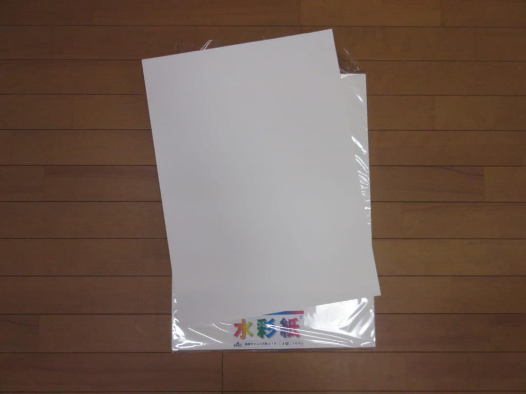 エスケント 水彩紙 美術キャンバス No.310 四切 100枚 331004