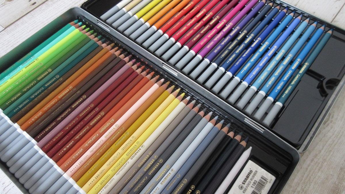 スタビロ 水彩色鉛筆 カーブオテロ 60色セット