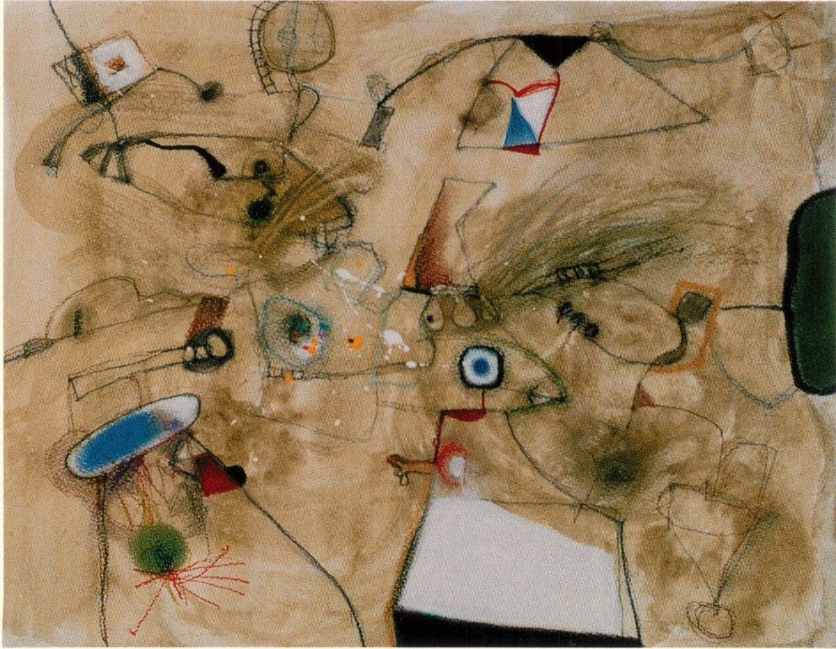 脇田六瓶個展「流れる鳥と人」