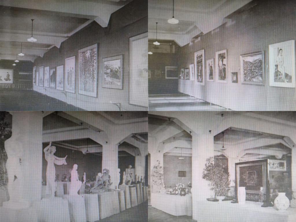 名古屋汎太平洋博美術展 館内