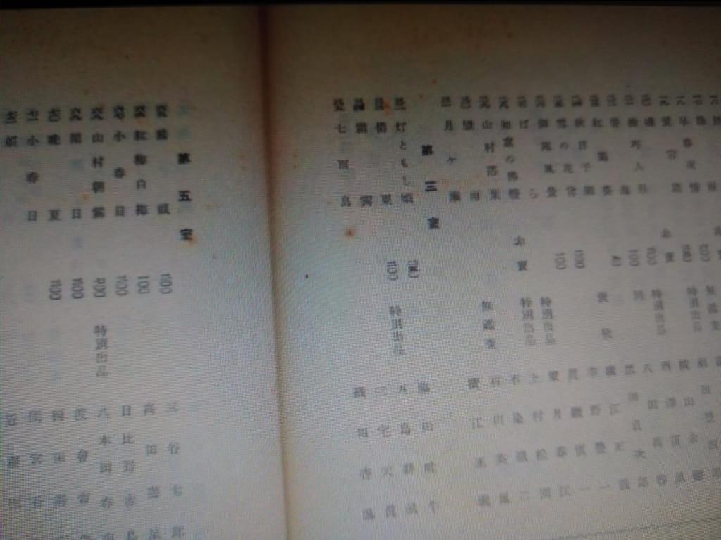 名古屋汎太平洋博美術展 出品目録