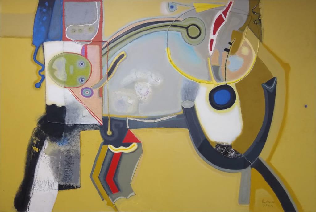 脇田六瓶の第67回春陽展出展作品