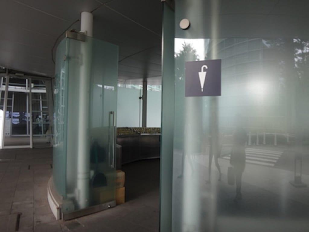 国立新美術館 傘置き場