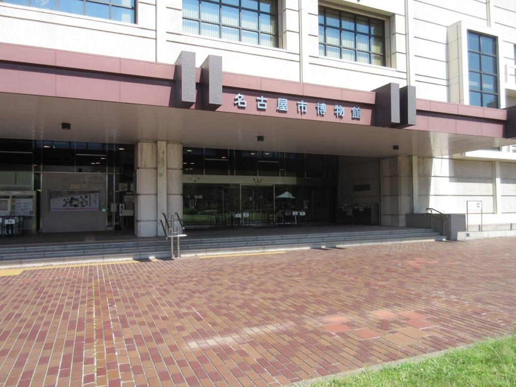 名古屋市博物館 本館の入口