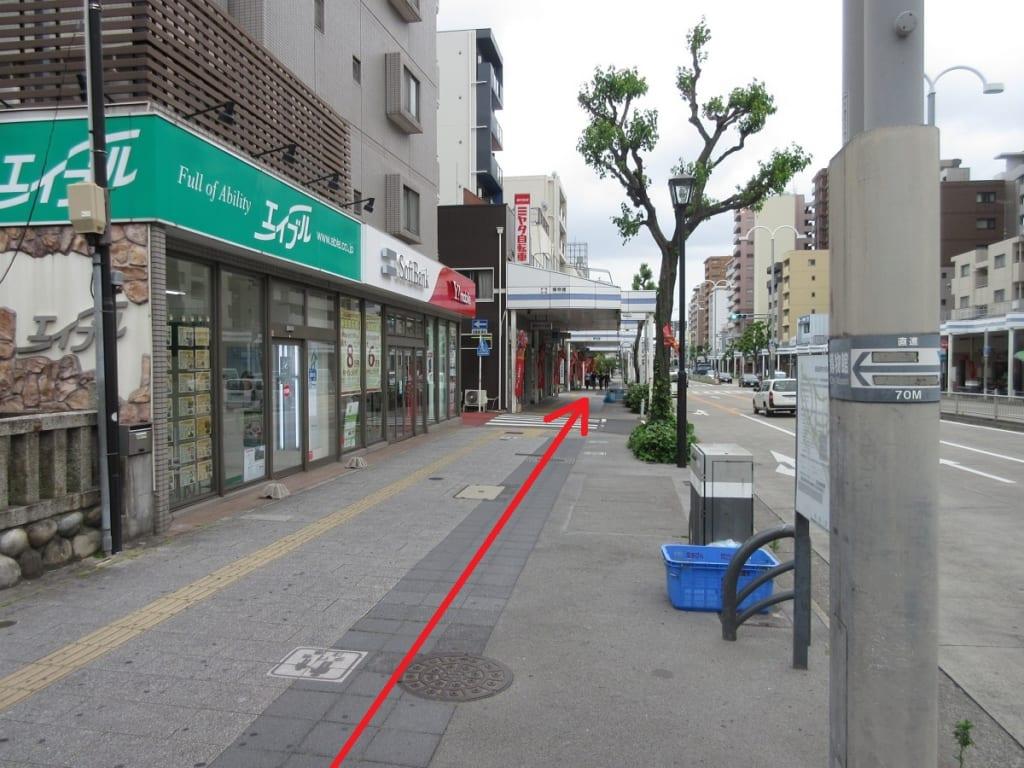 桜通線 桜山駅 4番出口前