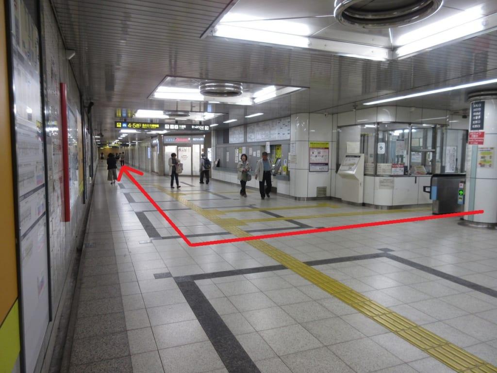 桜通線 桜山駅 改札口