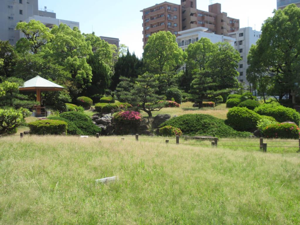 名古屋市博物館 日本庭園