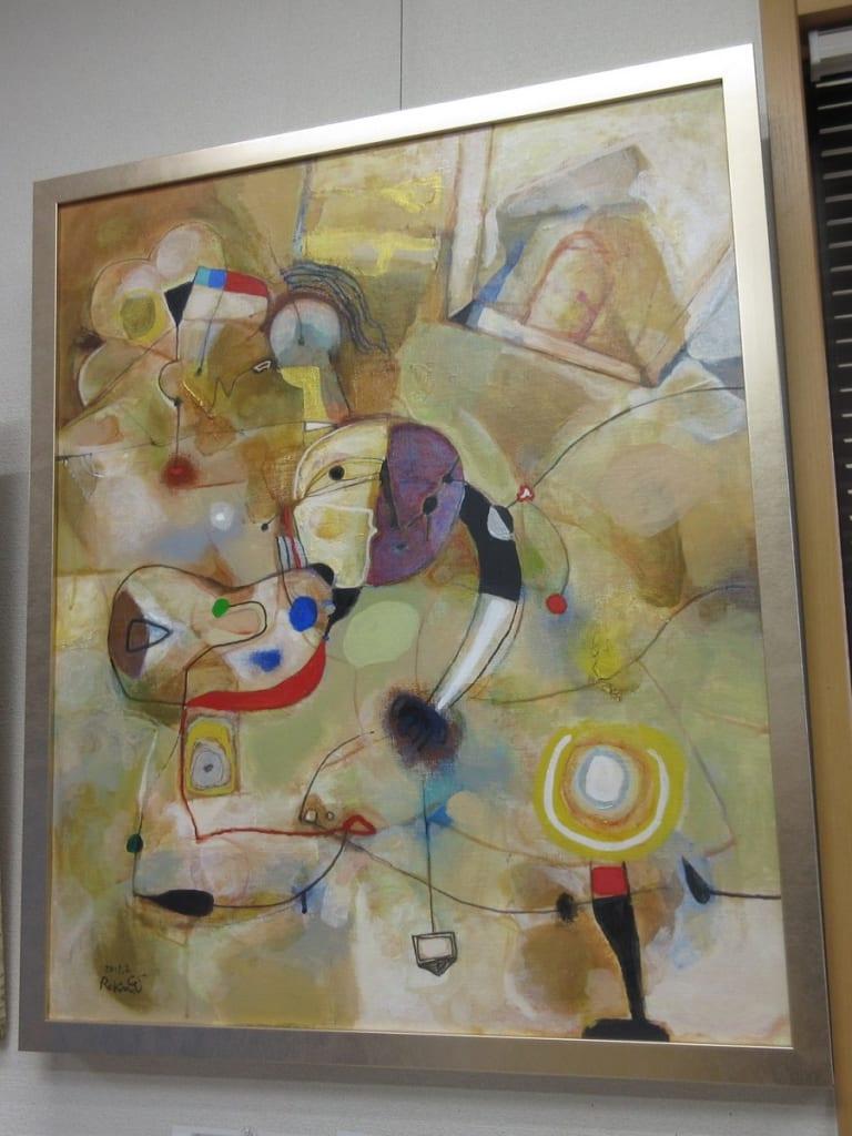 絵を描く人2011(アトリエ)