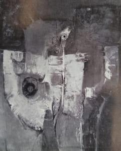 脇田六瓶の第46回春陽展出展作品