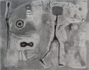 脇田六瓶の第59回春陽展出展作品