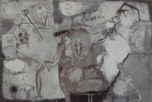 脇田六瓶の第63回春陽展出展作品