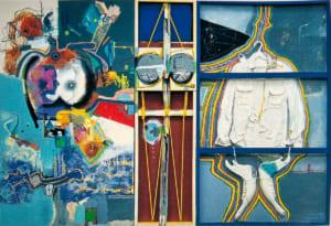 脇田六瓶の第74回春陽展出展作品