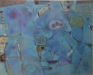 脇田六瓶の第96回春陽展出展作品