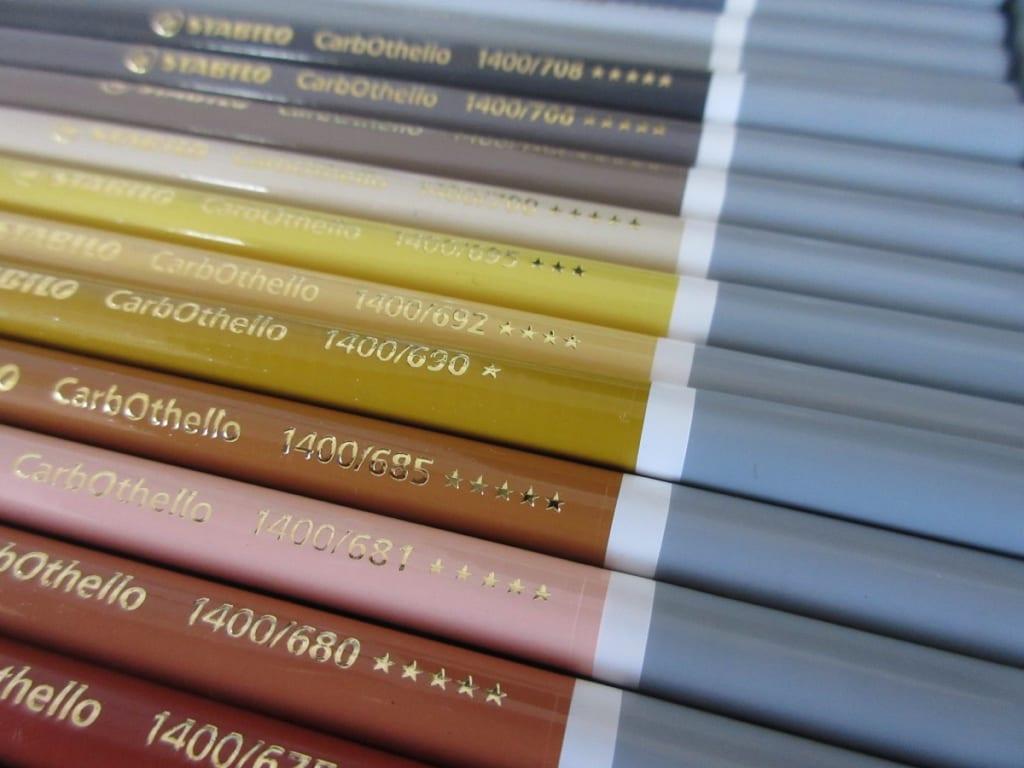 スタビロ 水彩色鉛筆 カーブオテロ 60色セット 下段